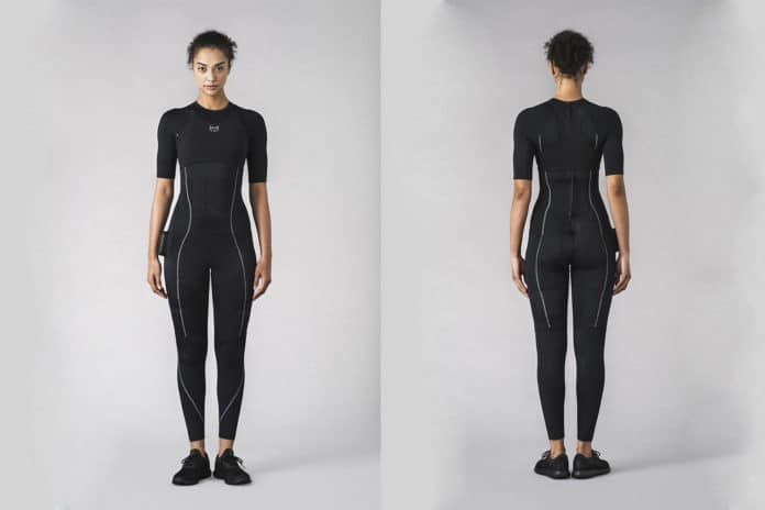 Xenoma presents e-skin EMStyle suit for efficient 20-minute training sessions.