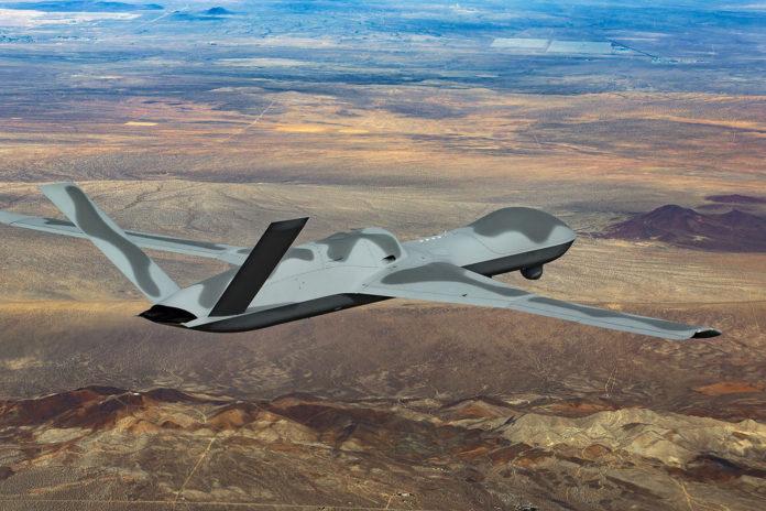 GA-ASI to modify Avenger drones for USAF's Skyborg Vanguard Program