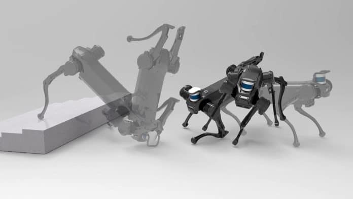 Robot dog learns how to recover on its own after an assault.