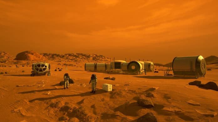 New way to create methane-based rocket fuel on the surface of Mars