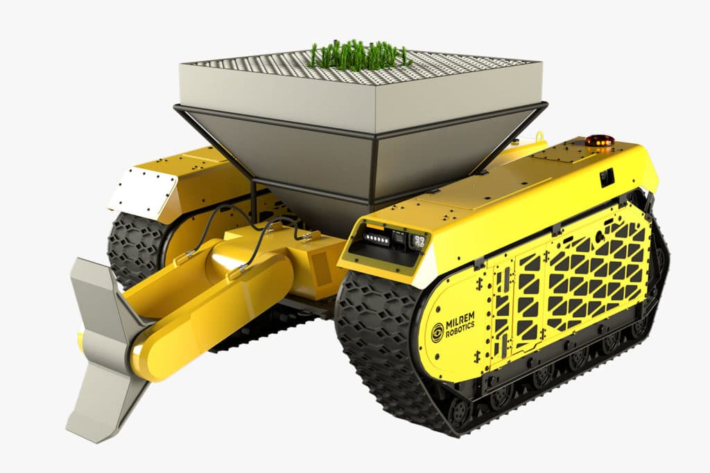These two robotic foresters could plant thousands of trees a day.