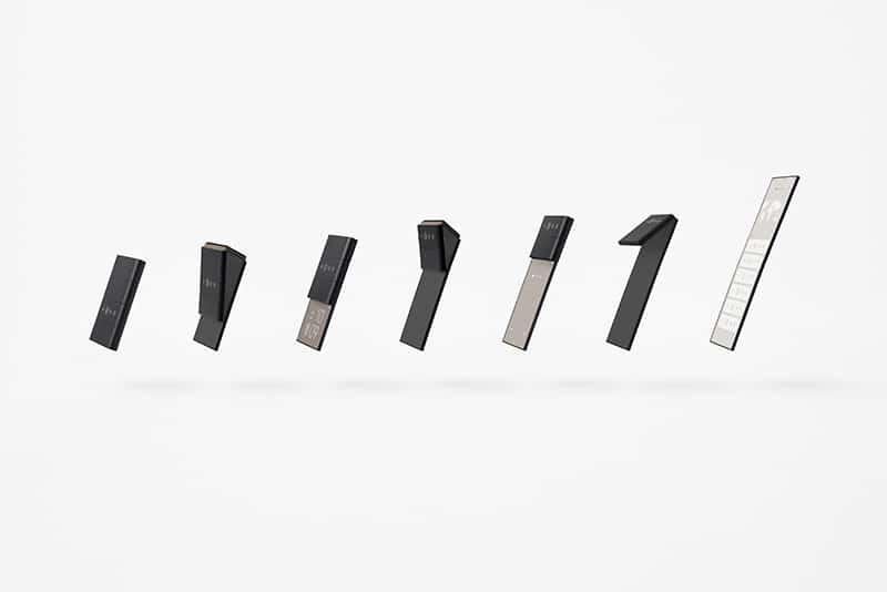 Nendo unveil a slide-phone concept for Oppo that unfolds into three screen sizes.