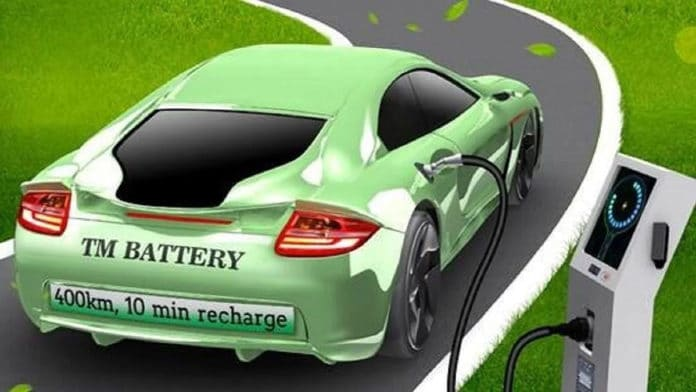Inexpensive EV battery offers a range of 250 miles, charges in 10 minutes
