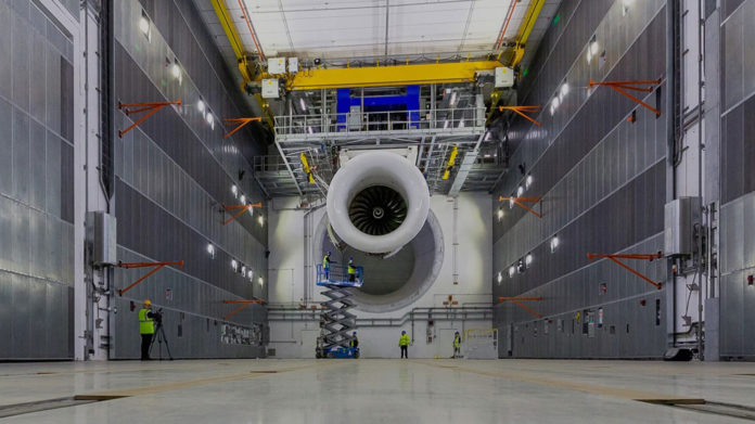 Rolls-Royce unveils the world's largest and smartest indoor engine testbed