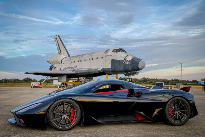 SSC Tuatara sets a new production-car speed record of 282.9 mph.
