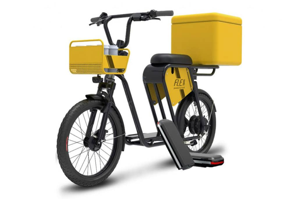 Smartron introduces Tbike Flex cargo e-bike that can carry 40 kg of cargo.
