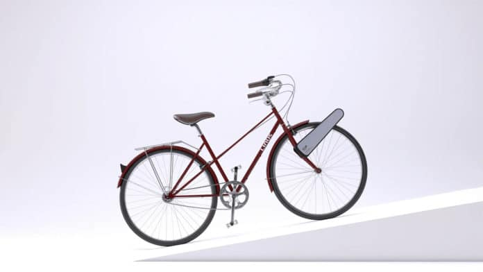 CLIP turns a normal bike into an e-bike in seconds.