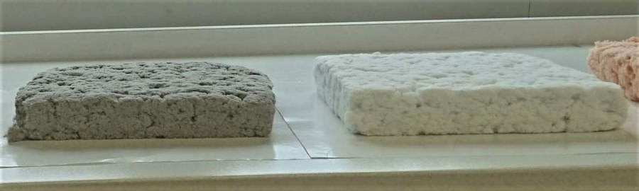 Sustainable cool packaging alternative to Styrofoam made from recycled paper
