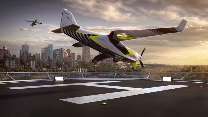 Ascendance unveils a long-range, low emissions hybrid propulsion VTOL aircraft.