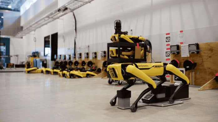 Boston Dynamics' Spot Enterprise comes with self-charging capabilities.