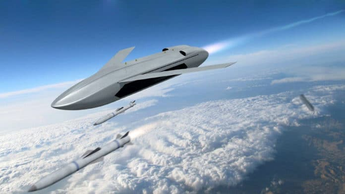 DARPA initiates design of LongShot air-launched combat drone