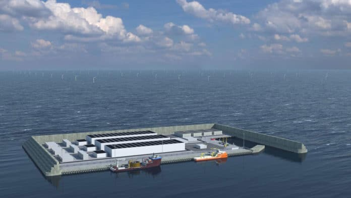 Denmark to build world's first wind energy hub island in North Sea.