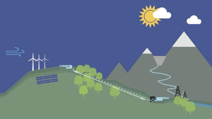 British startup plans to turn hills into enormous batteries