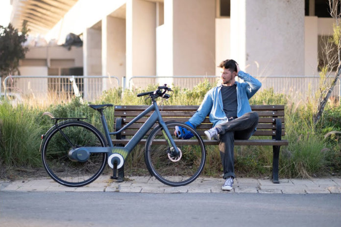 Oyo Bike, a hydraulic, chainless ebike with automatic seamless gears.
