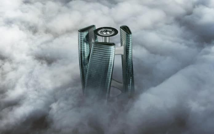 Squall Tower, a turbine-shaped skyscraper concept that rotate with the wind.
