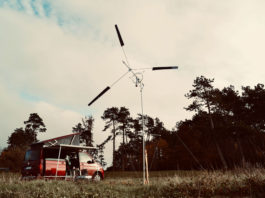 Wind Catcher, a portable, powerful wind turbine that setup in 15 minutes