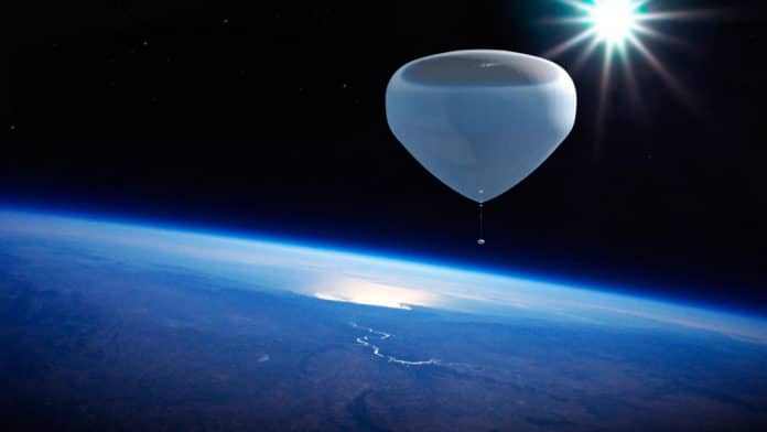 Spanish company plans to send tourists to space in helium balloons.