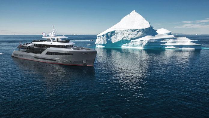 Bering Yachts builds its second tri-deck B145 explorer yacht.
