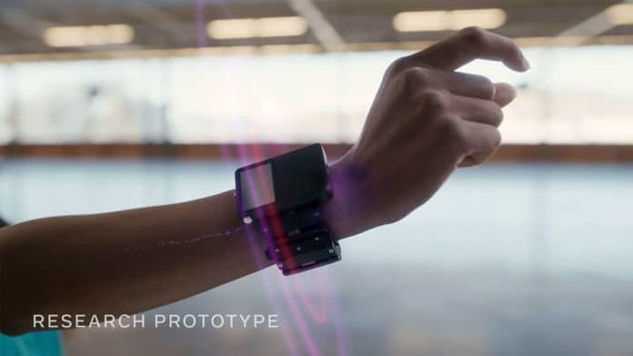 Facebook develops neural wristband to support augmented reality glasses.