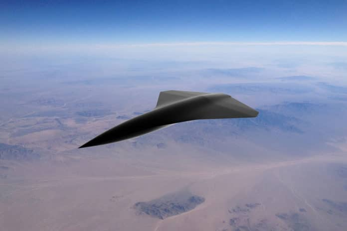 Kelley Aerospace launches supersonic unmanned combat aerial vehicle