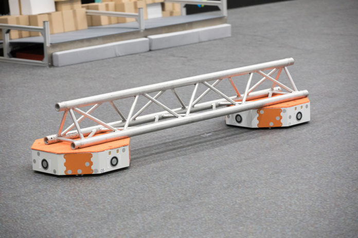 LoadRunner autonomous high-speed transporter for tomorrow's logistics