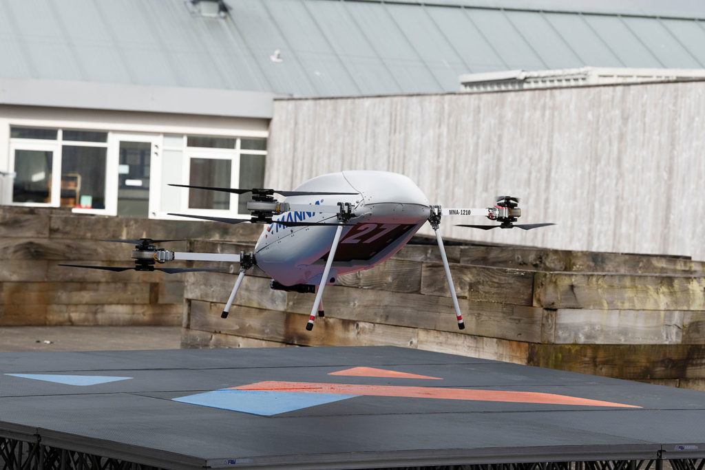 Samsung to deliver Galaxy products with drones in minutes