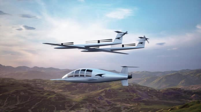 Talyn Air presents two-stage eVTOL air taxi with detachable lift system.