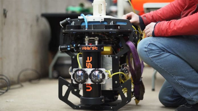 A2I2 autonomous robot to clean underwater nuclear waste