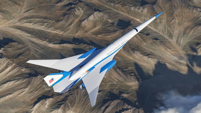 Startup Exosonic is working on a supersonic Air Force One jet.