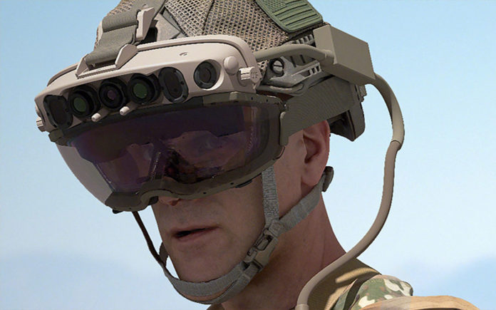 Microsoft wins contract to supply US Army with HoloLens-based headset.