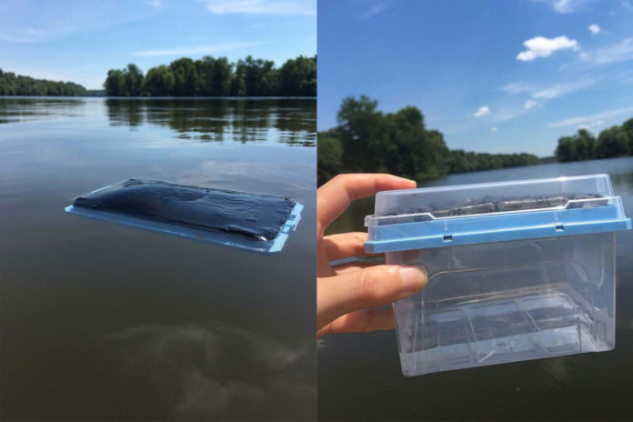 Low-cost water filter uses sunlight to produce clean drinking water