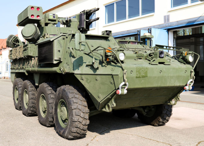 U.S. Army begins fielding new Short Range Air Defense system.