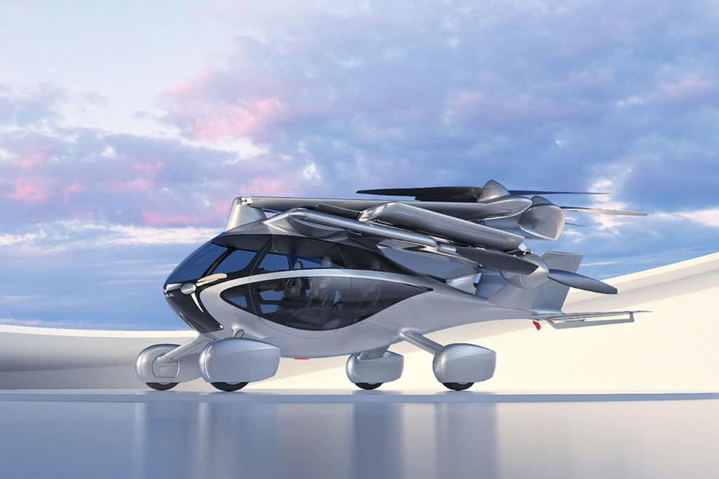 Meet ASKA, a four-seat street-legal eVTOL drive and fly vehicle.
