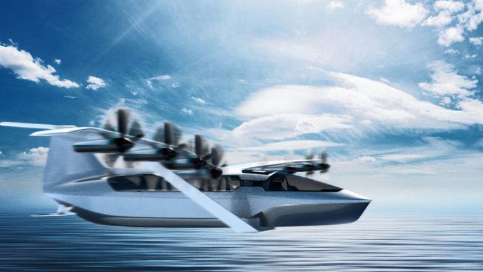 Regent's flying electric Seaglider ferry could revolutionize coastal travel