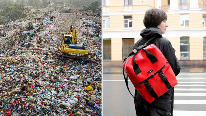 99Recycle turns trash mountains into sustainable fashion accessories