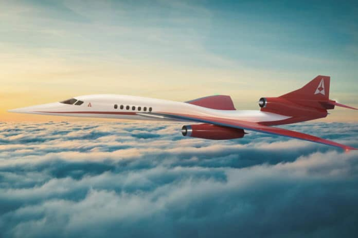 Supersonic business jet maker Aerion abruptly shuts down