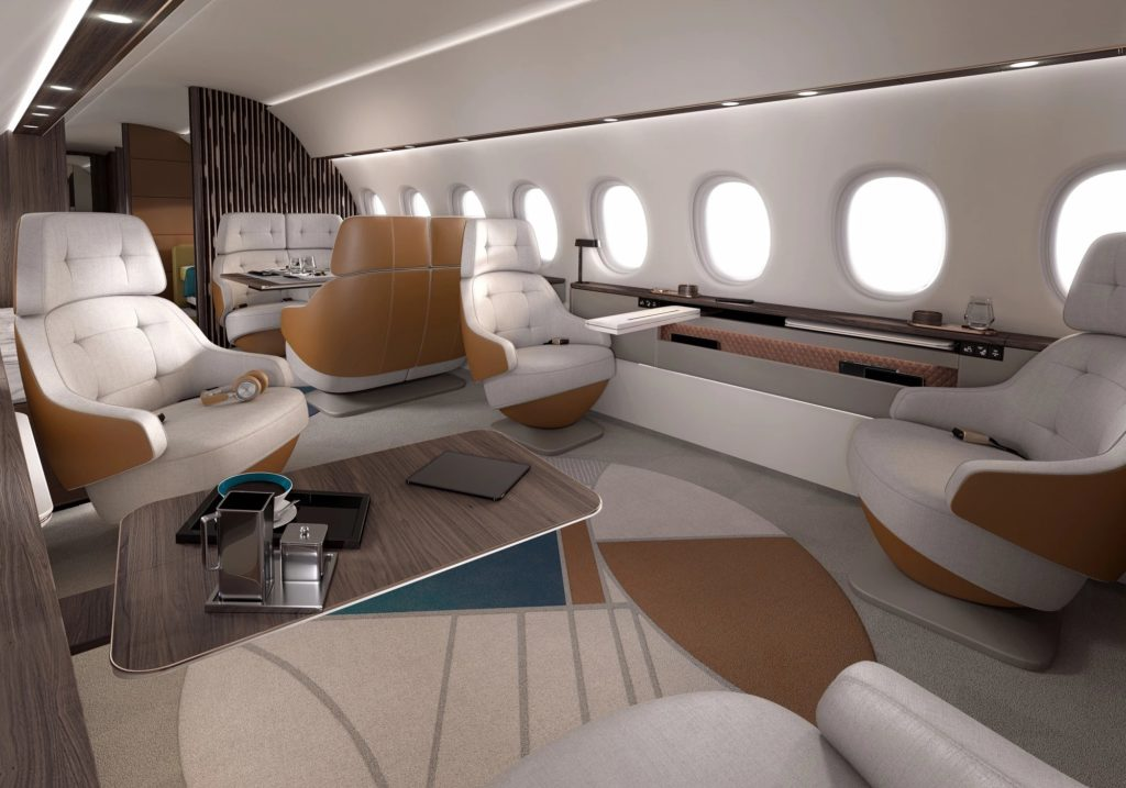 Dassault launches ultra-long-range Falcon 10X with industry's largest cabin