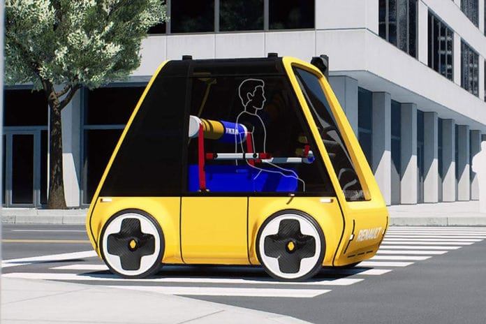 Meet Höga, an electric car that you could assemble by yourself, at home.