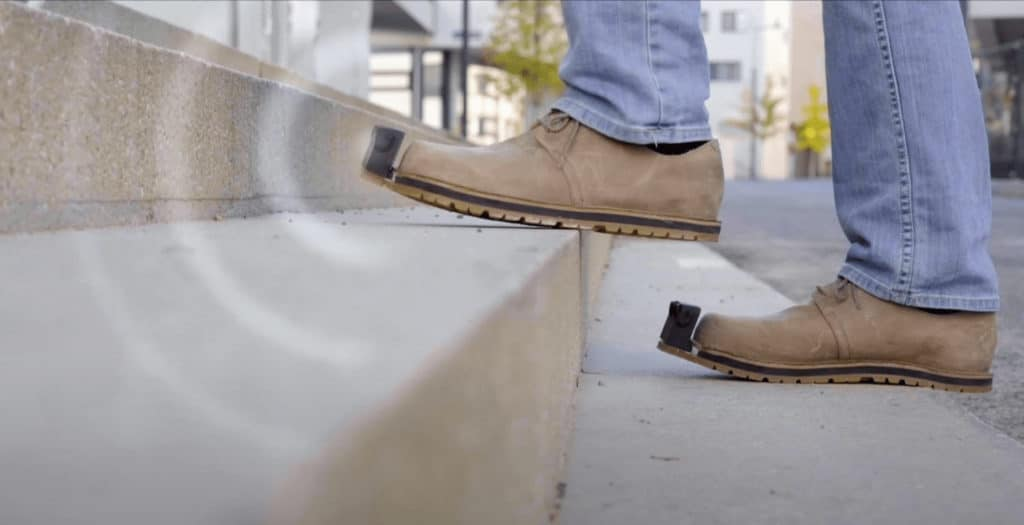 InnoMake smart shoe warns blind and visually impaired people of obstacles