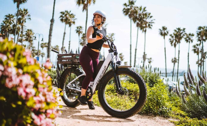 Juiced launches new RipCurrent S Step-Through fat-tire electric bike.