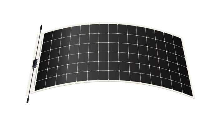 Maxeon's thin, frameless solar panels can be adhered directly to the roof.