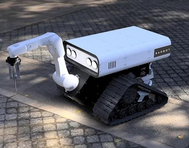 Printstones unveils Baubot, a modular, multi-tasking construction bot.
