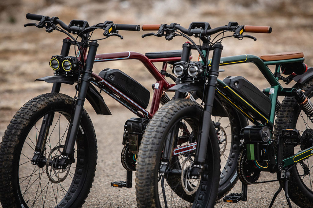 Ristretto 303 FS, a multi-class e-bike with up to 55 miles of range.