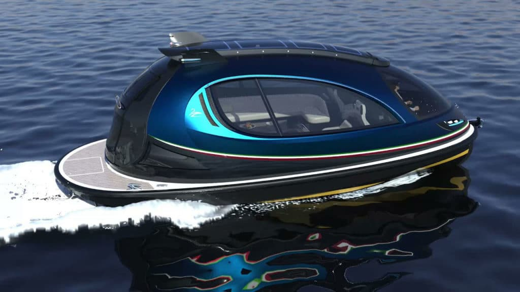 Lazzarini's new luxurious Jet Capsule is bigger and faster