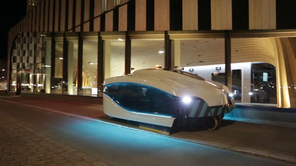 Autonomous street sweeper Trombia Free cleans up city streets in Helsinki -  Inceptive Mind