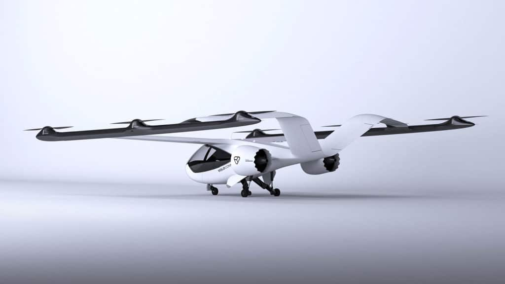 Volocopter introduces VoloConnect fixed-wing flying taxi for longer flights