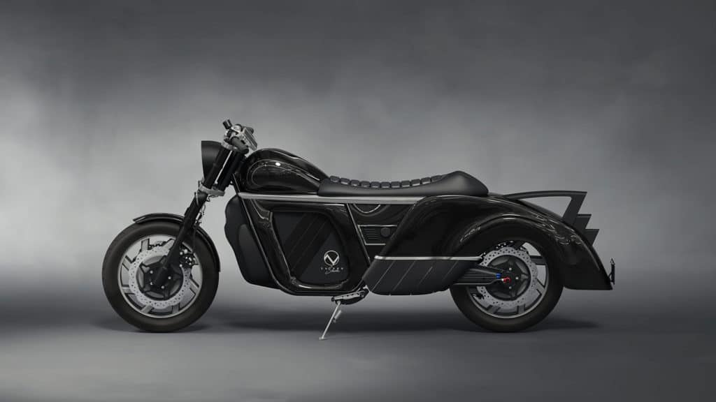Stunning all-wheel-drive Zaiser Electrocycle comes with 300-mile range.