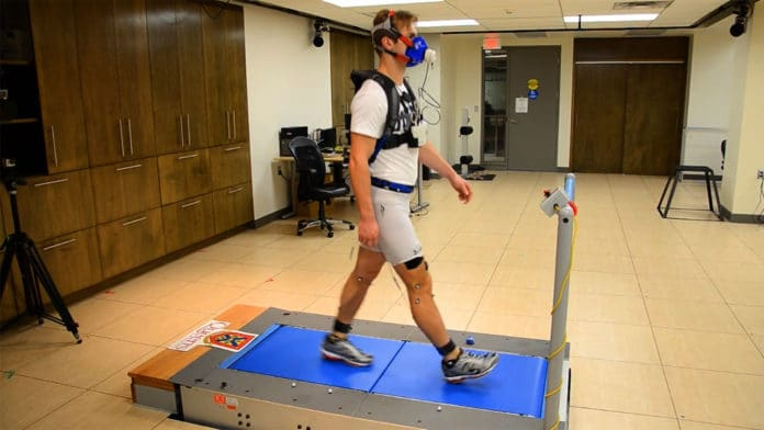 Lightweight exoskeleton allows users to walk further while using less energy.