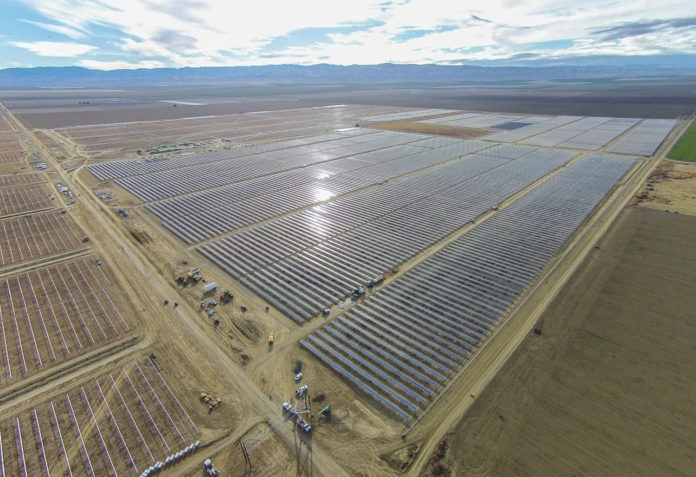 U.S. approves new 350 MW solar energy project in California desert