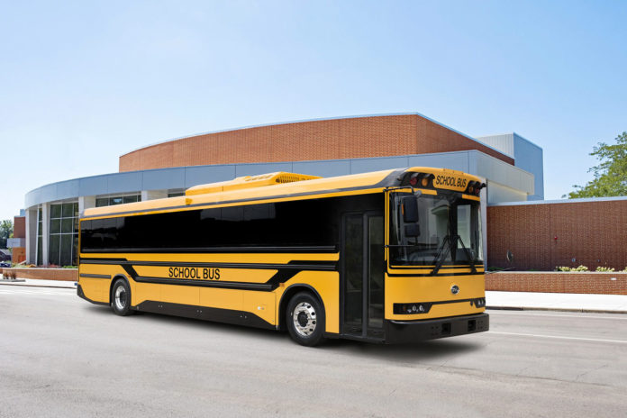 BYD introduces high-safety electric school bus with bi-directional charging.